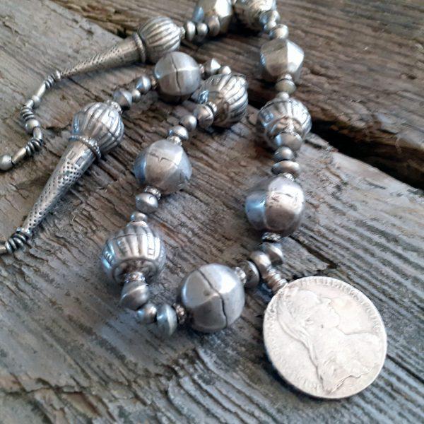 Ethiopian coin necklace